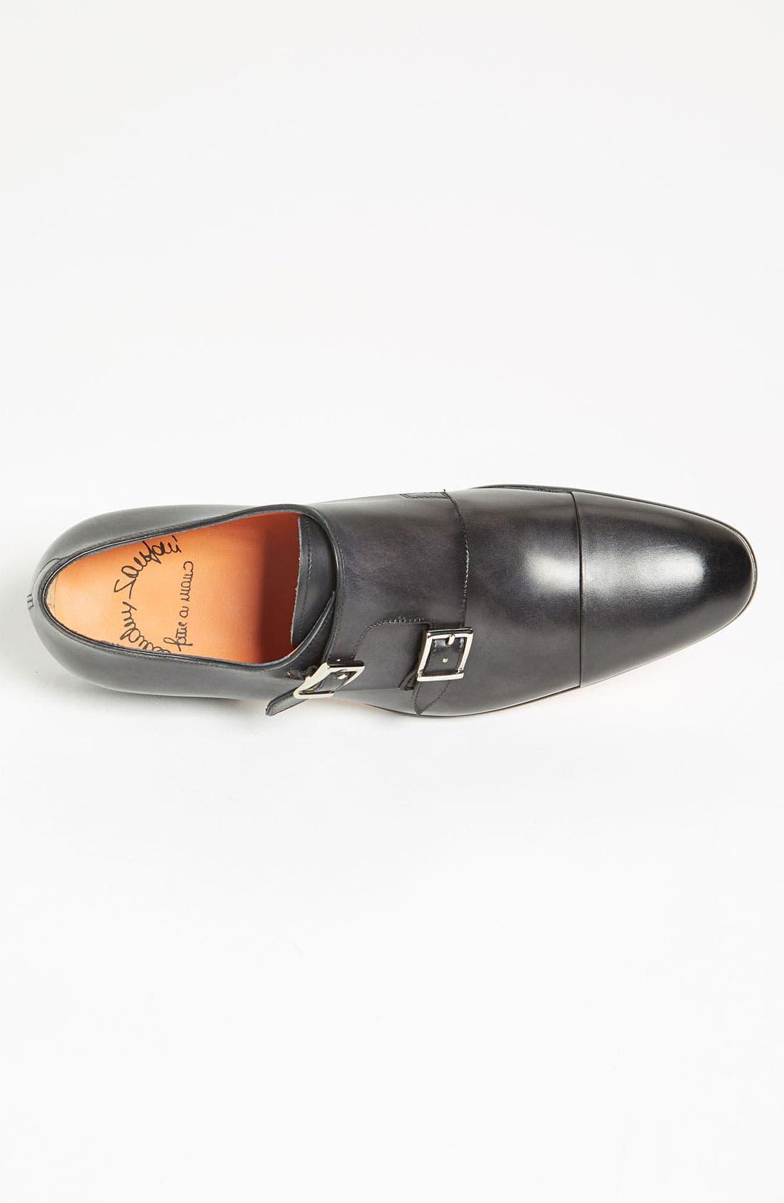Alternate Image 3  - Santoni 'Truman' Double Monk Strap Slip-On