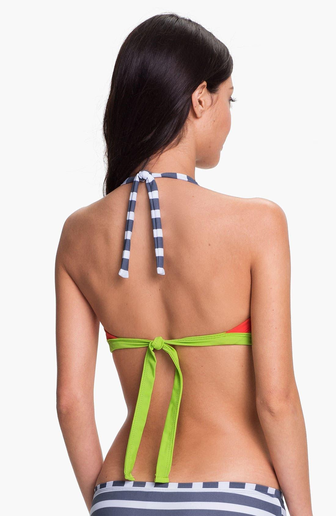Alternate Image 3  - BCA 'Rugby' Bandeau Bikini Top