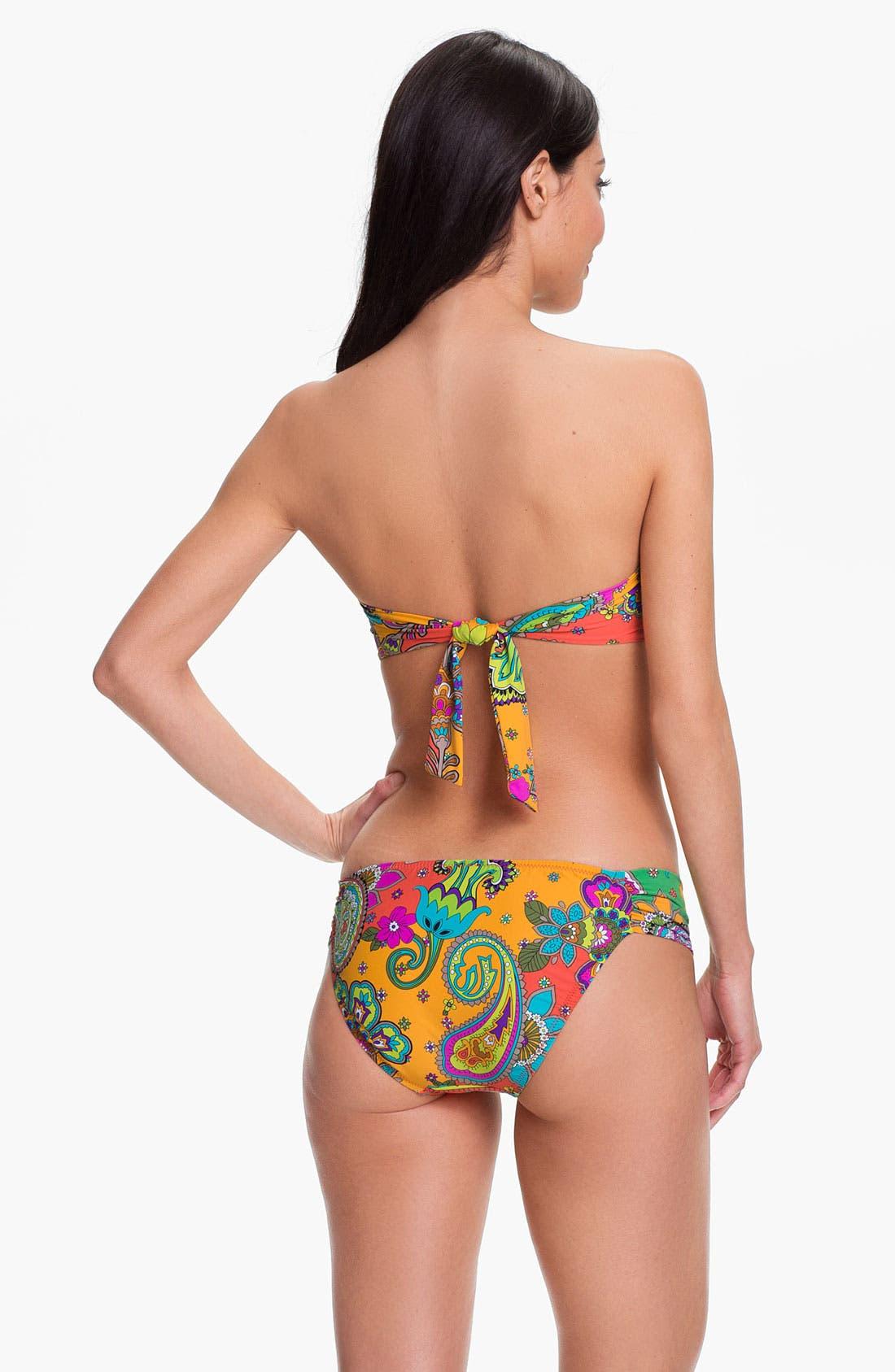 Alternate Image 3  - Trina Turk 'Summer of Love' Bandeau Bikini Top