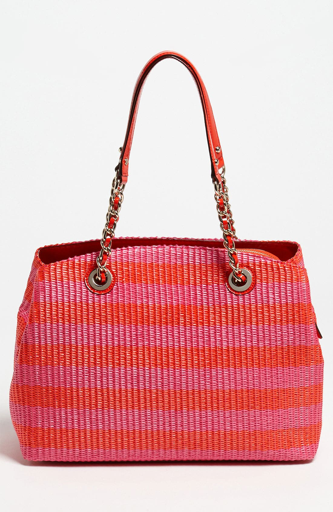 Alternate Image 4  - kate spade new york 'pacific heights - sloan' raffia shoulder bag