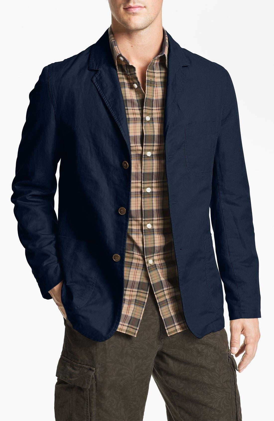 Main Image - Wallin & Bros. 'Hamilton' Twill Sportcoat