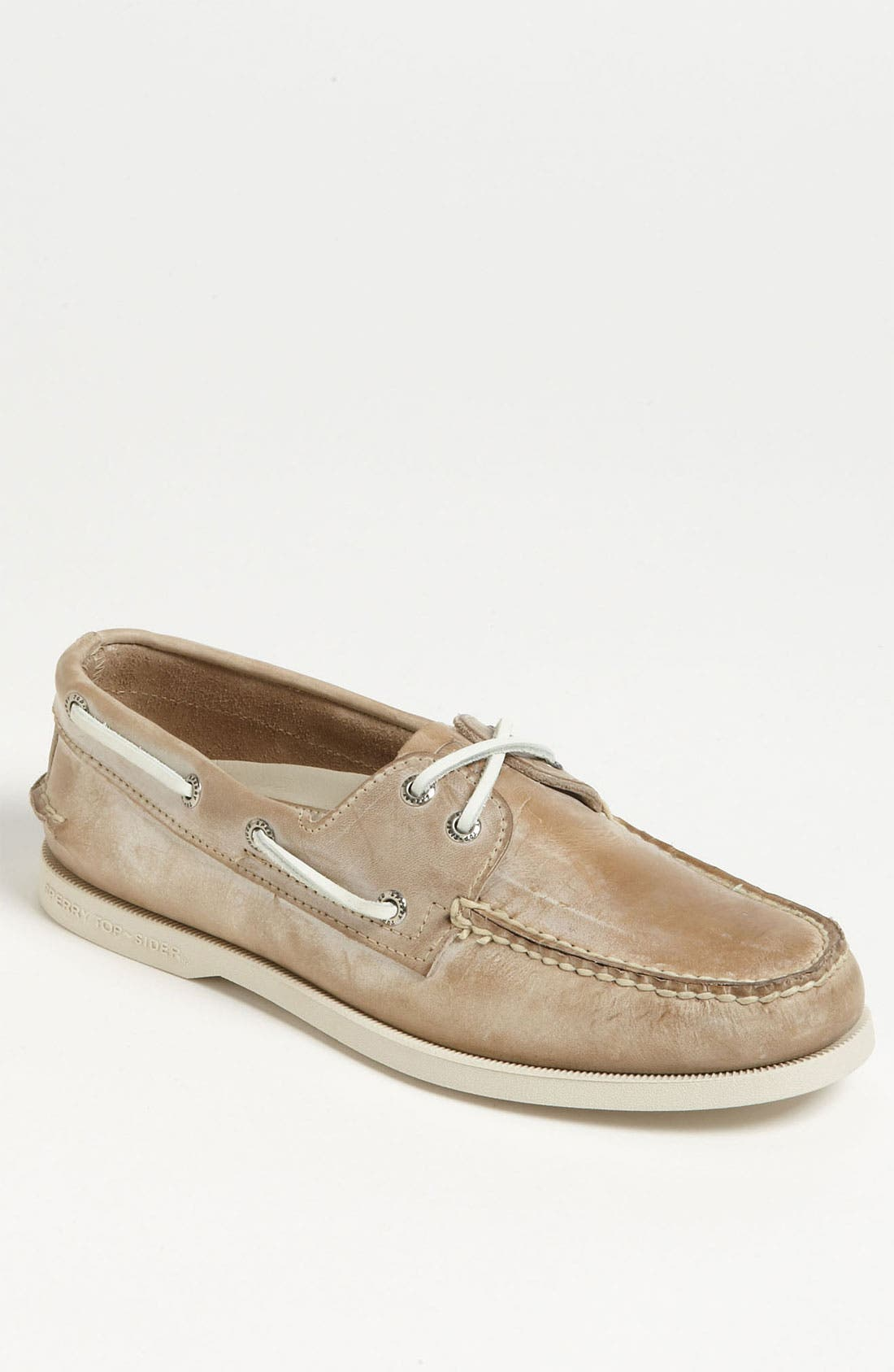 Main Image - Sperry Top-Sider® 'Authentic Original - White Wash' Boat Shoe (Men)