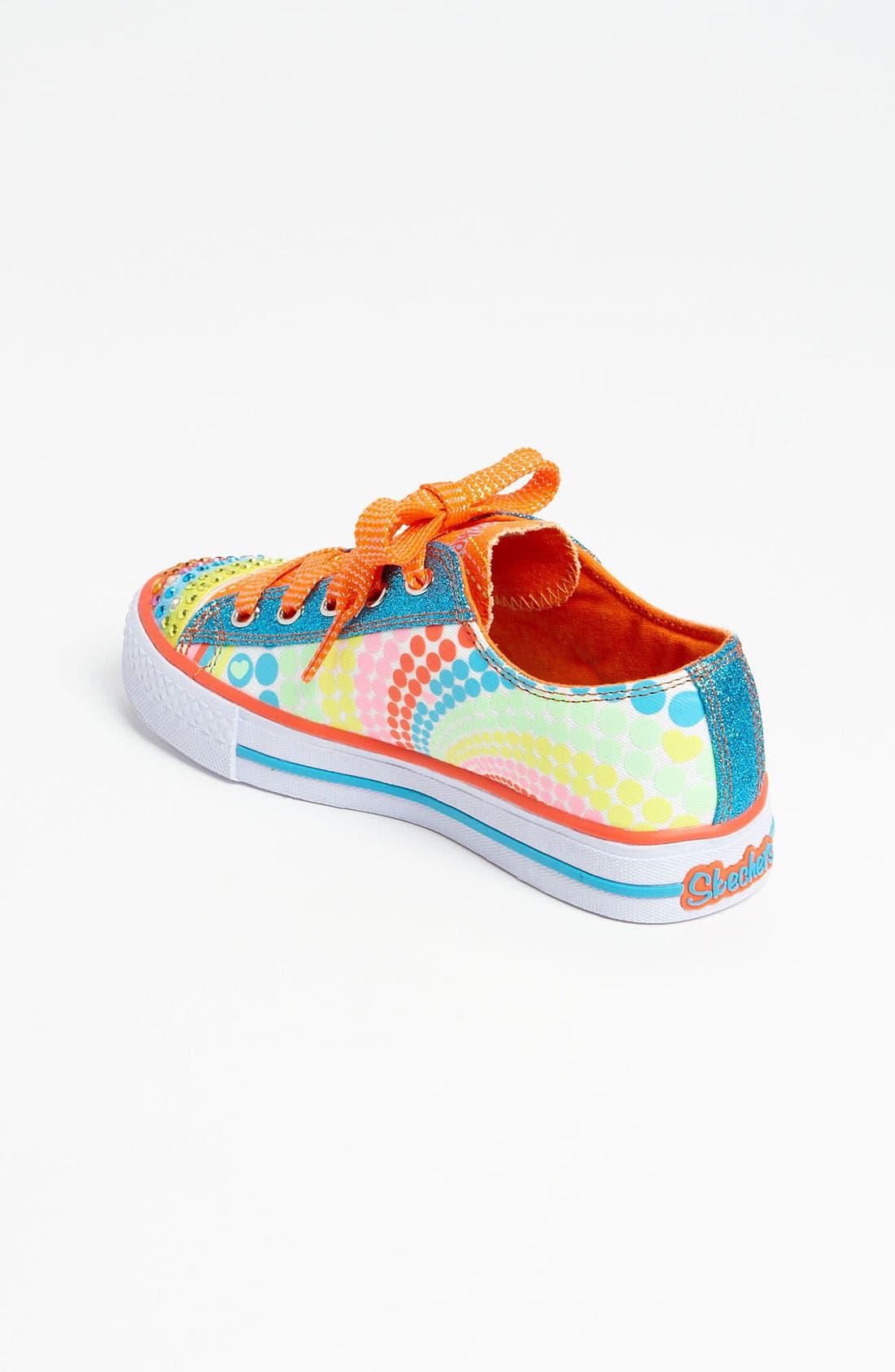Alternate Image 2  - SKECHERS 'Shuffles - Lights Heart Sparks' Sneaker (Walker, Toddler & Little Kid)