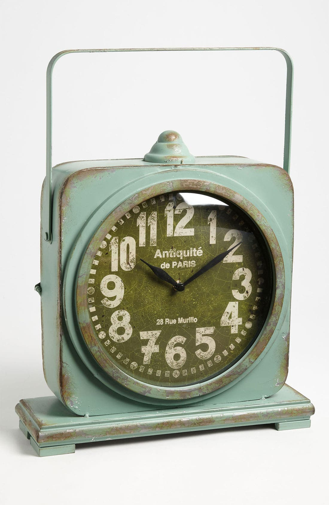 Alternate Image 1 Selected - Iron Table Clock