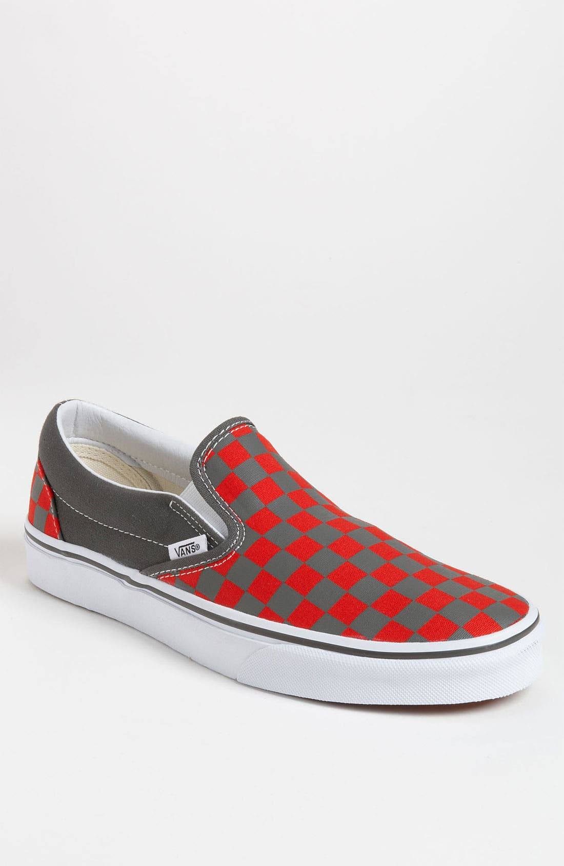 Alternate Image 1 Selected - Vans 'Checkerboard' Slip-On (Men)