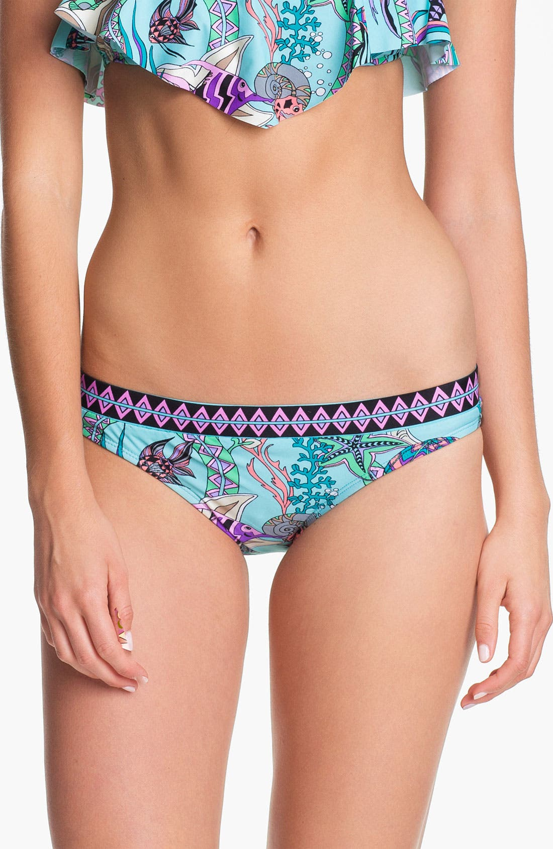 Alternate Image 1 Selected - The Bikini Lab Banded Hipster Bikini Bottoms