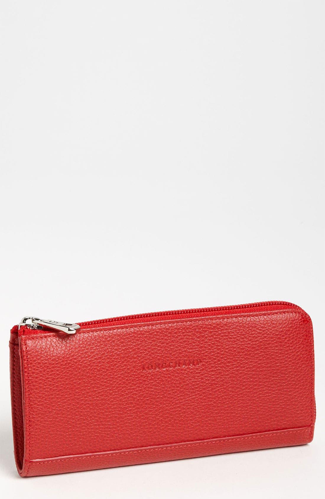 Main Image - Longchamp Leather Wallet