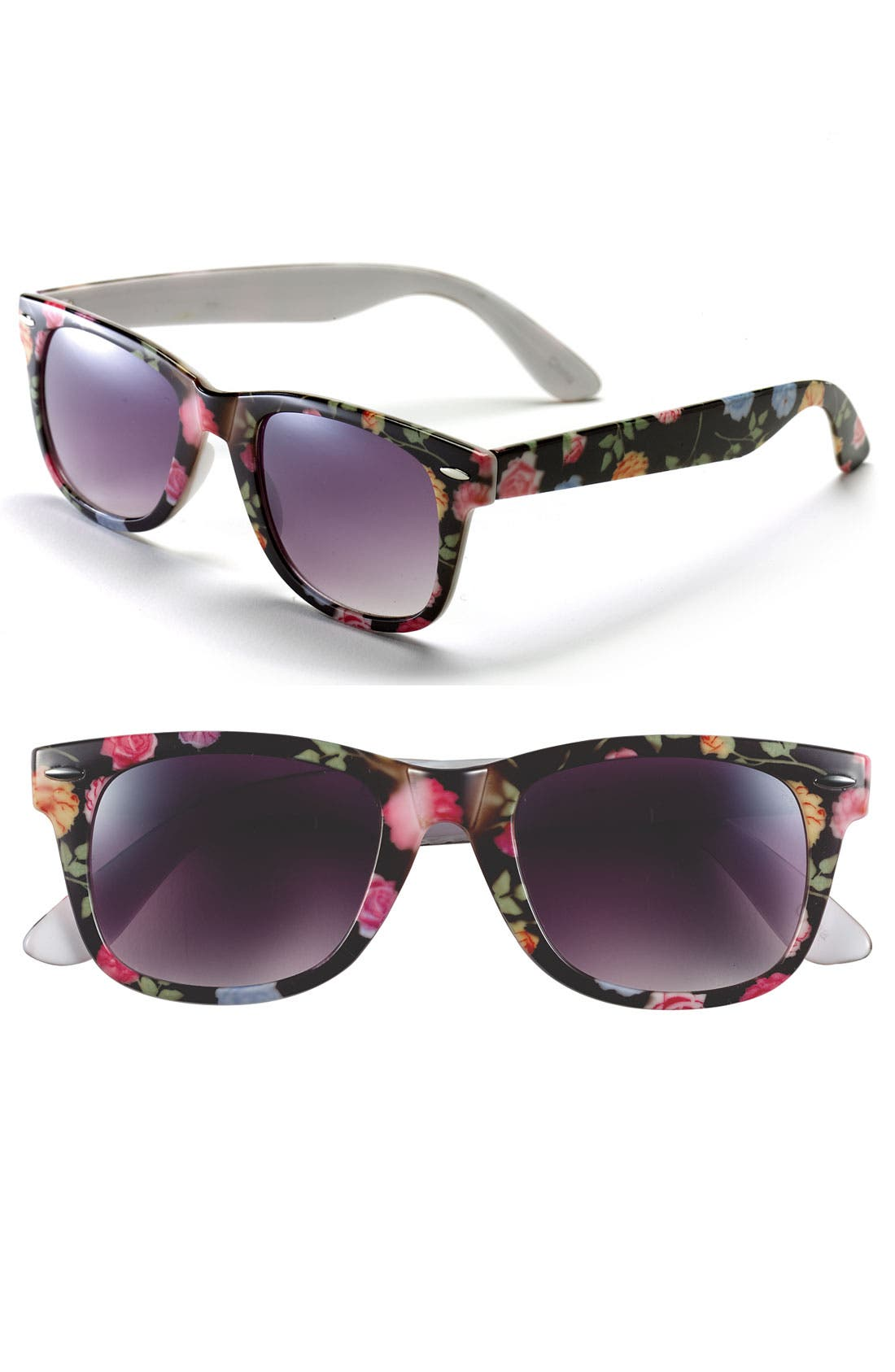 Alternate Image 1 Selected - Icon Eyewear 'Maureen' Retro Sunglasses (Juniors)