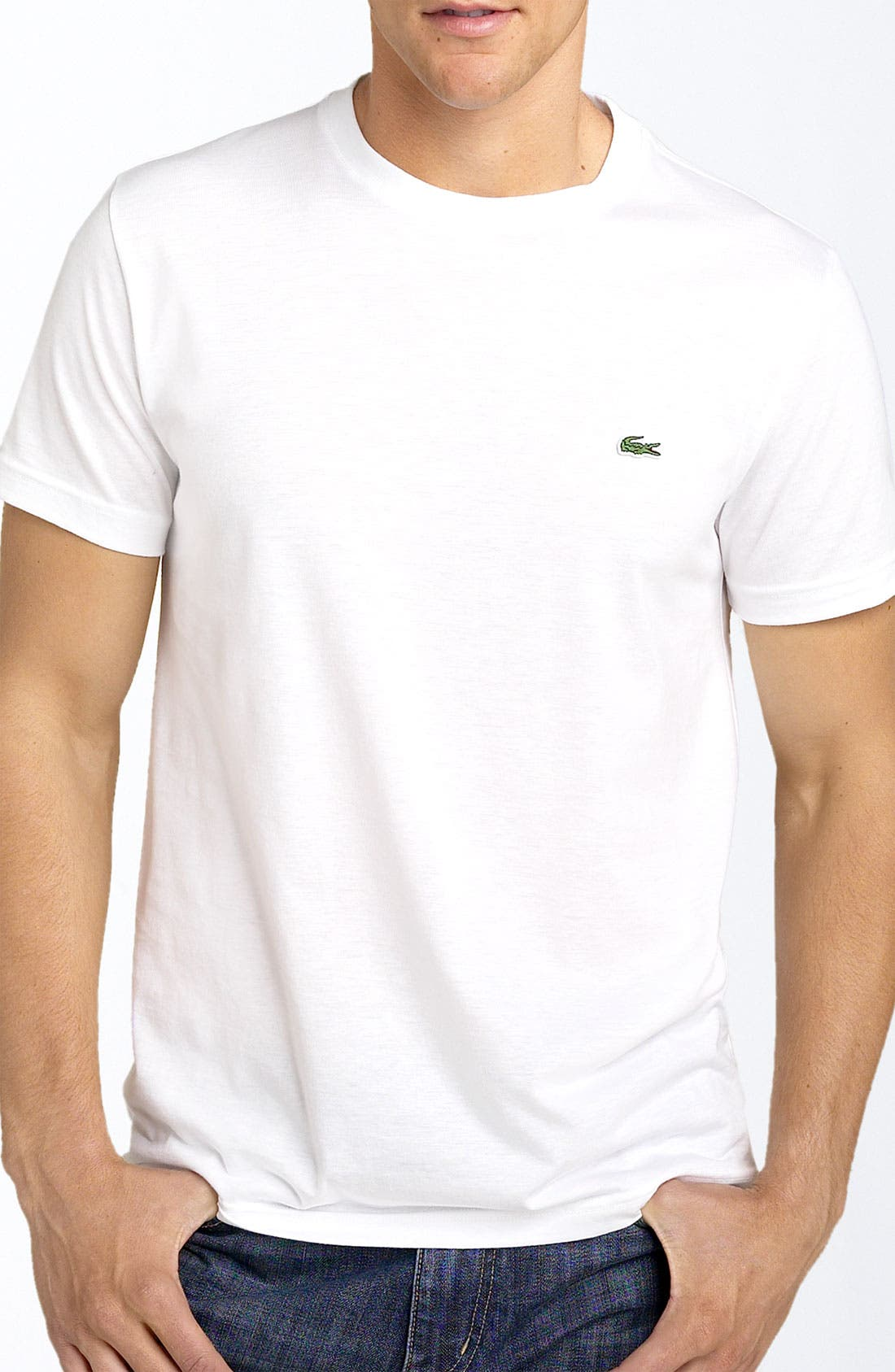 Main Image - Lacoste Cotton T-Shirt (Tall)