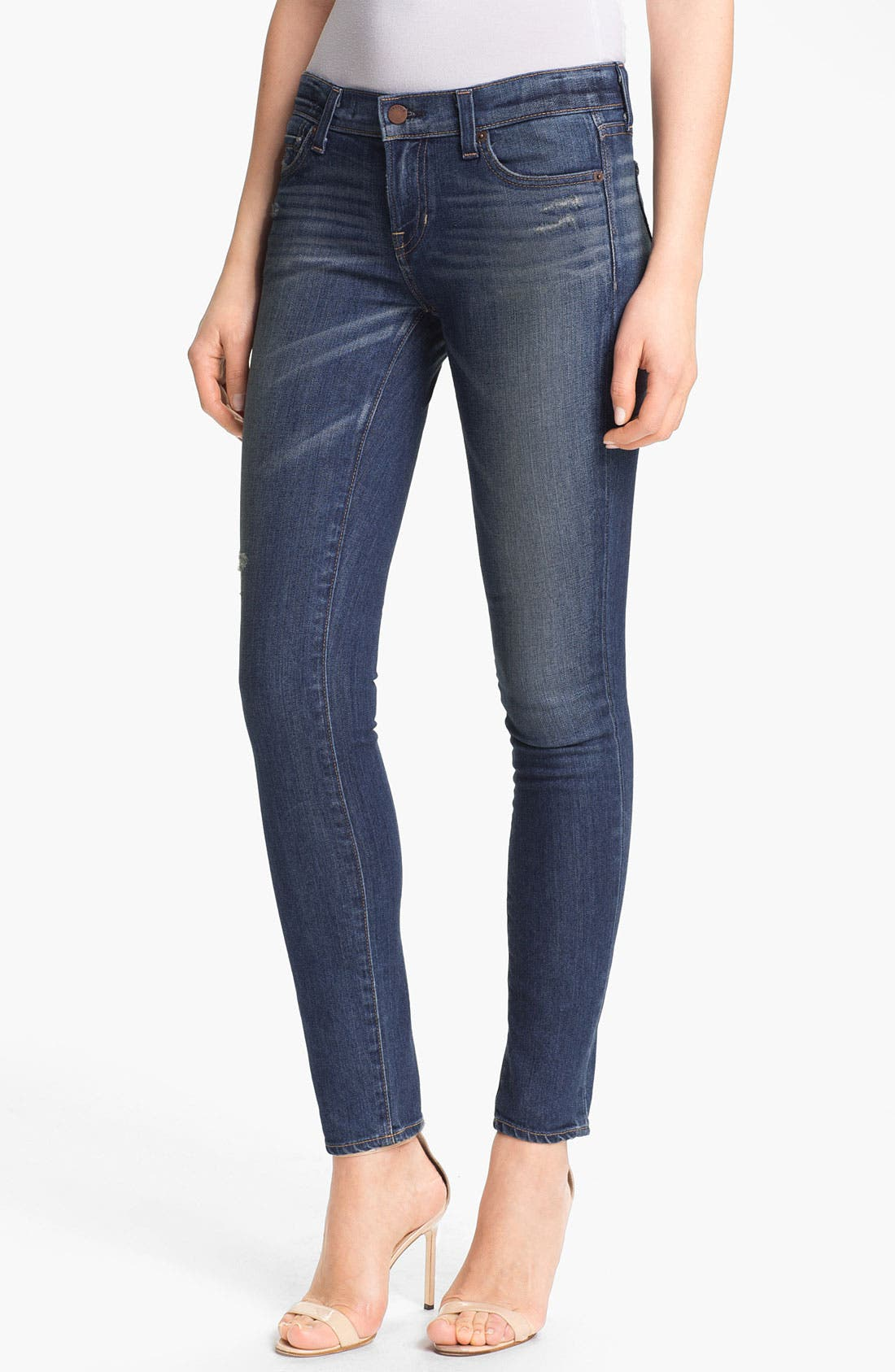 Alternate Image 1 Selected - TEXTILE Elizabeth and James 'Debbie' Skinny Jeans