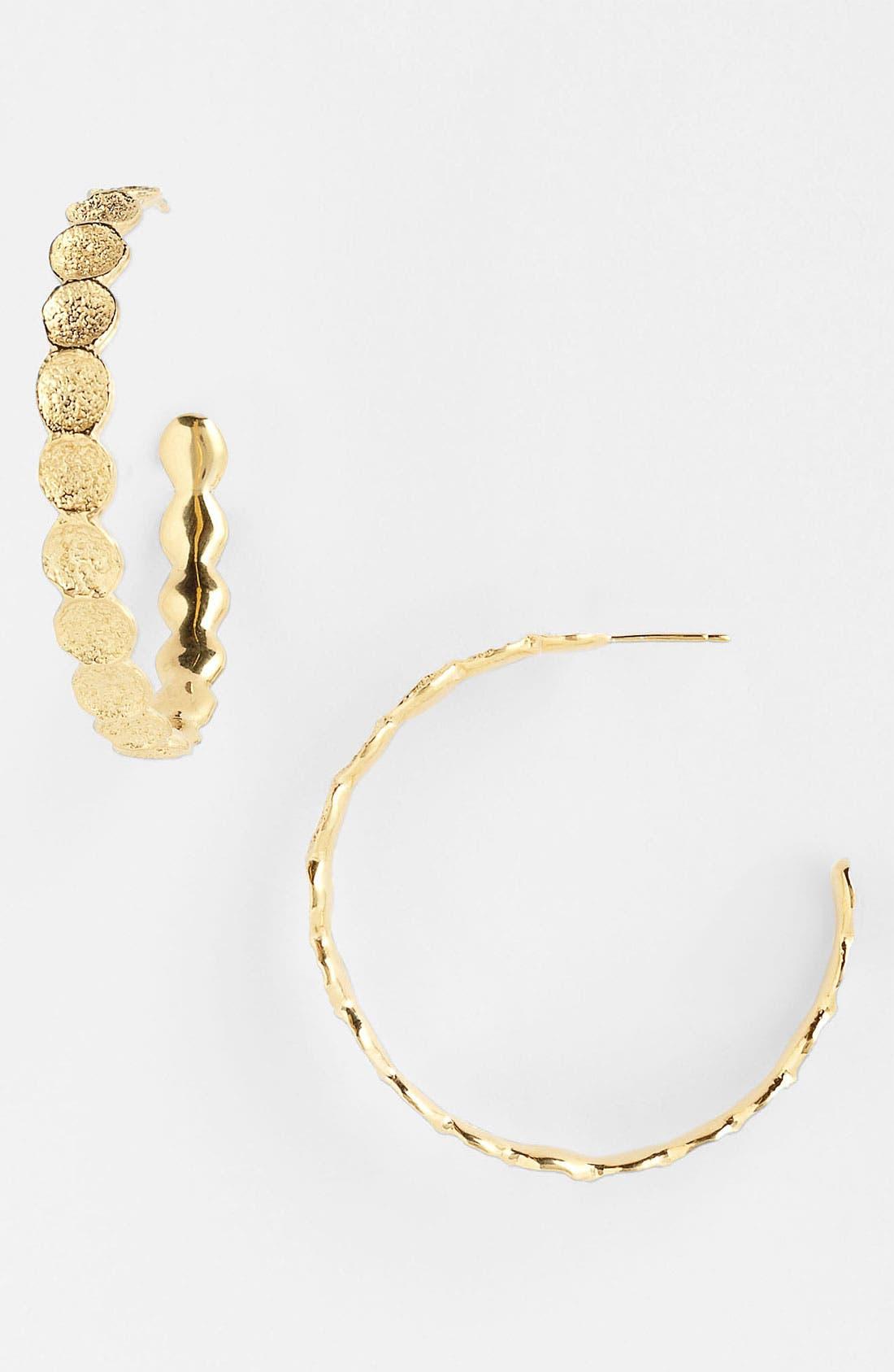 Alternate Image 1 Selected - Melinda Maria 'Sabina' Hoop Earrings