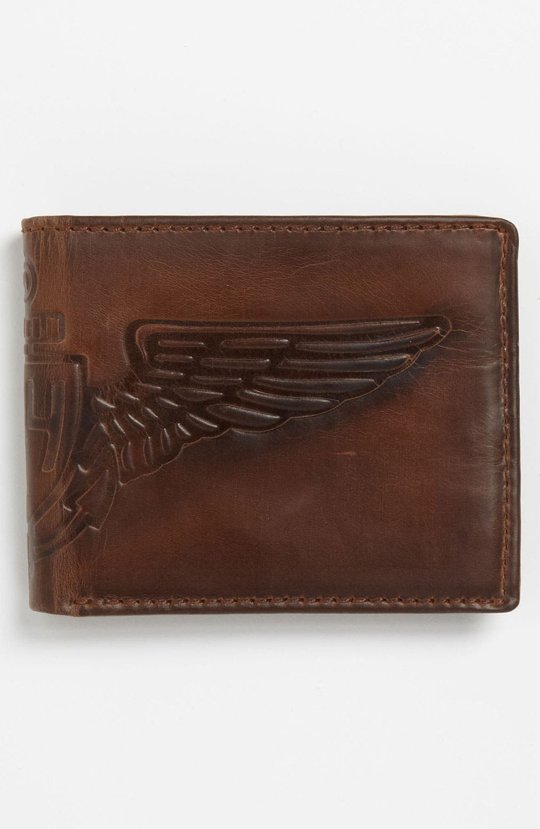 Alternate Image 3  - Fossil 'Flatiron Traveler' Wallet