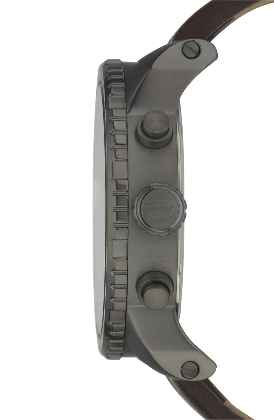 Alternate Image 3  - DIESEL® 'Double Down' Large Chronograph Watch, 51mm
