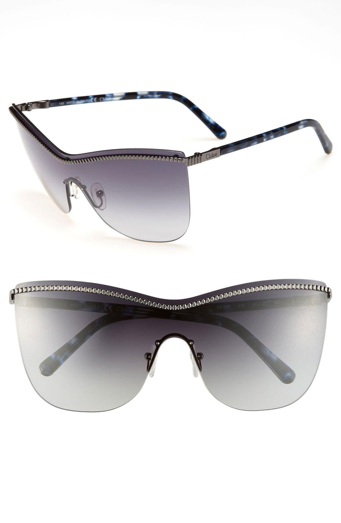 Main Image - Chloé 'Acanthe' 60mm Sunglasses