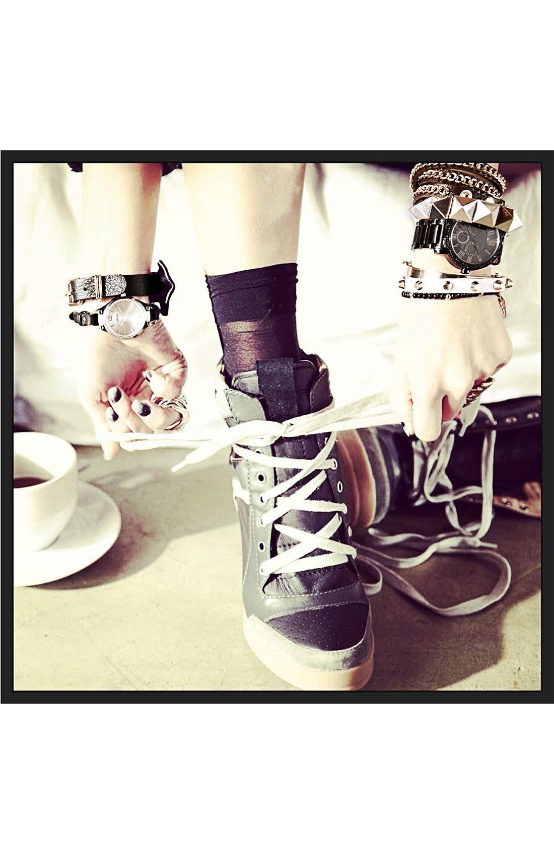 Alternate Image 3  - Cara Leather Wrap Bracelet