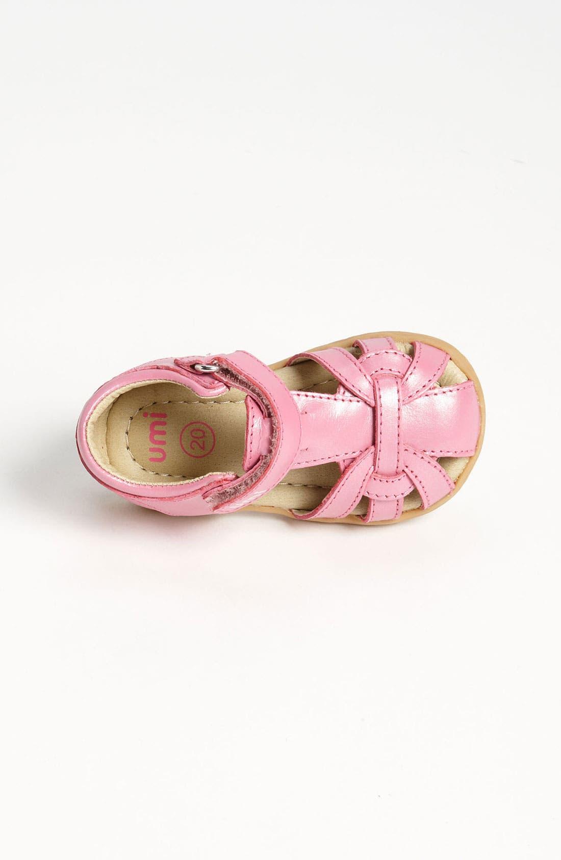 Alternate Image 3  - Umi 'Natalia' Sandal (Baby, Walker & Toddler)