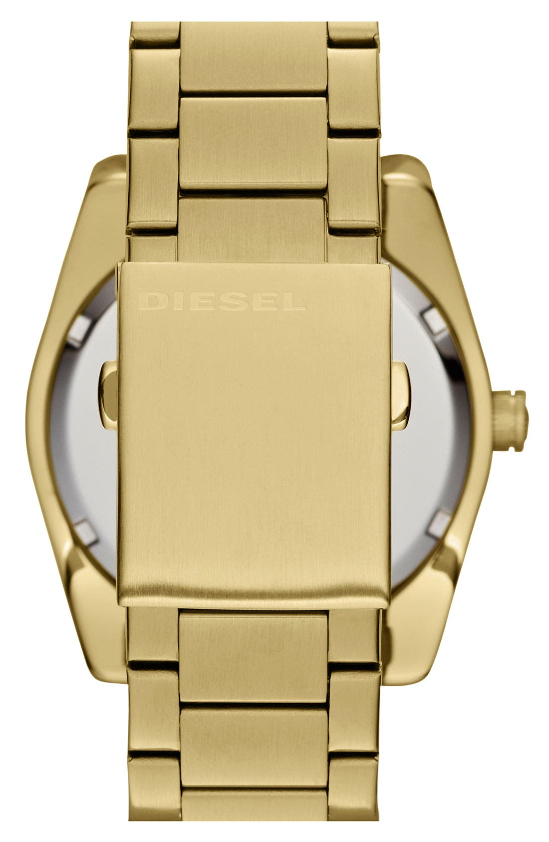 Alternate Image 3  - DIESEL® 'Good Company' Bracelet Watch, 44mm