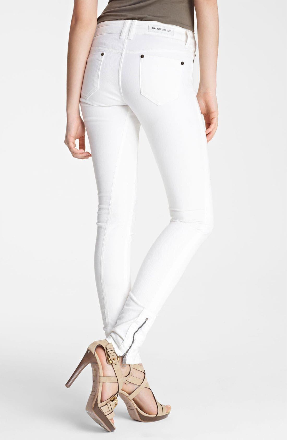 Alternate Image 2  - Burberry London Skinny Stretch Jeans