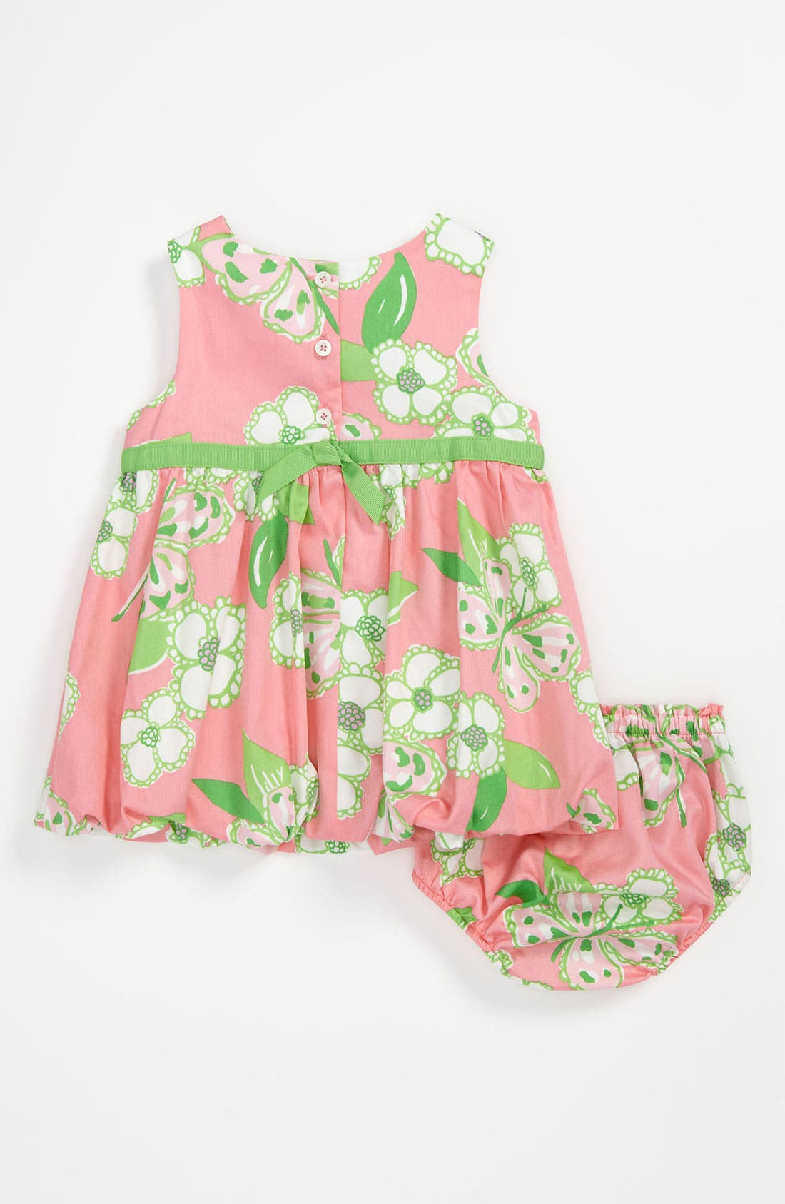 Alternate Image 2  - Lilly Pulitzer® 'Britta Baby' Bubble Dress & Bloomers (Baby)