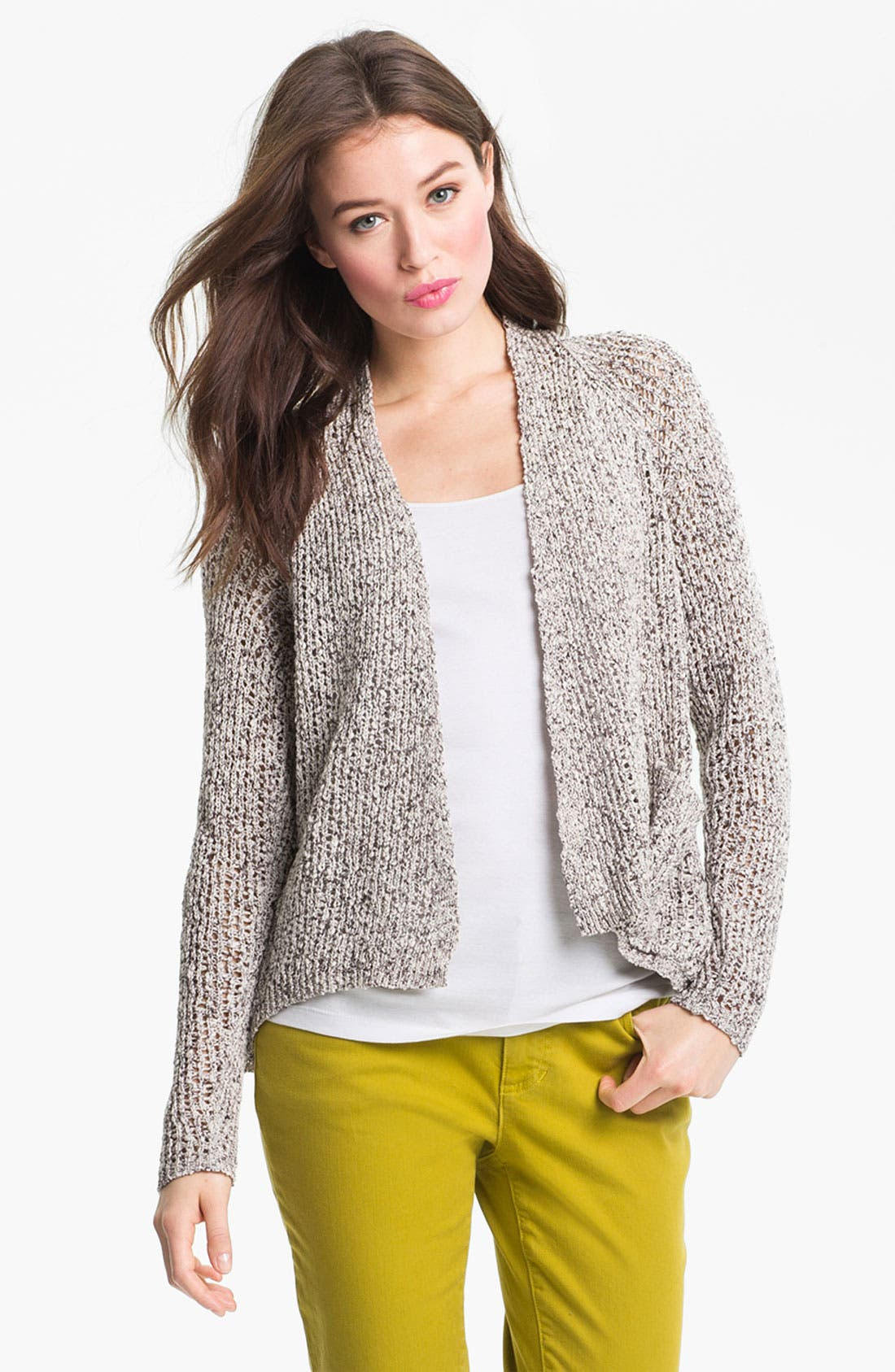Alternate Image 1 Selected - Eileen Fisher Raglan Sleeve Cardigan