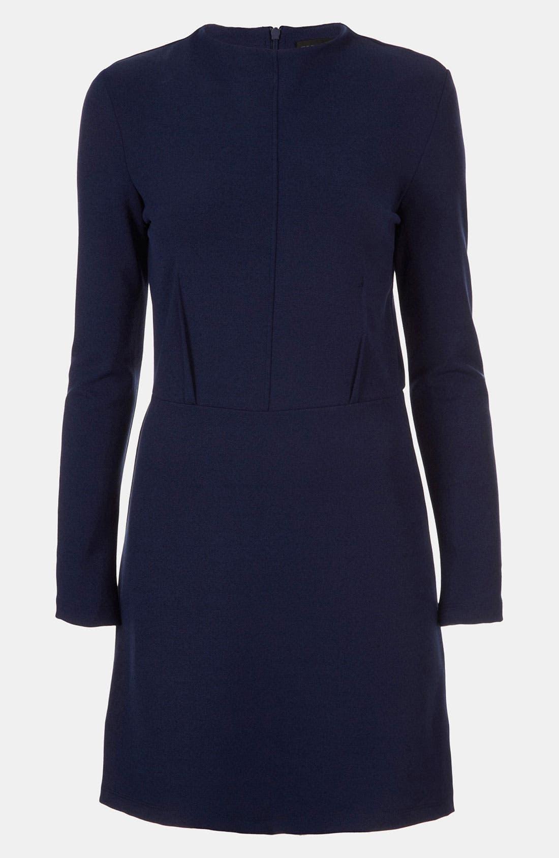 Alternate Image 1 Selected - Topshop High Neck Ponte Dress