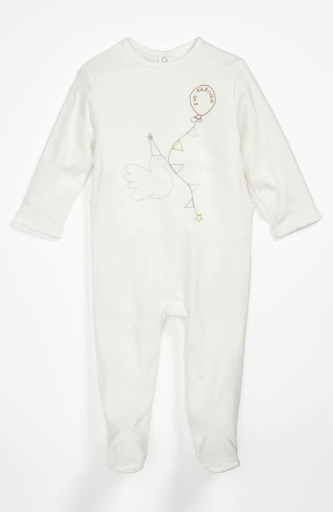 Alternate Image 1 Selected - Stella McCartney Kids 'Bunty Baby' Footie Gift Set (Baby)