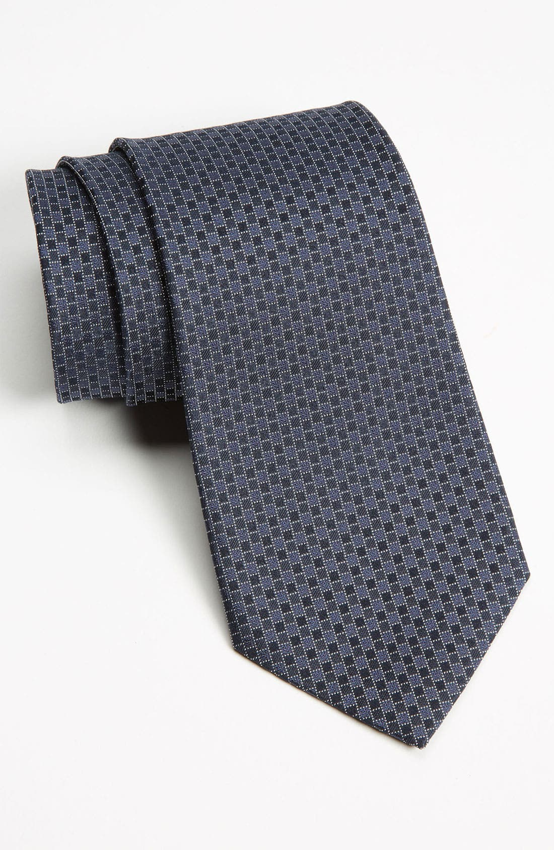 Alternate Image 1 Selected - Z Zegna Pattern Woven Silk Tie