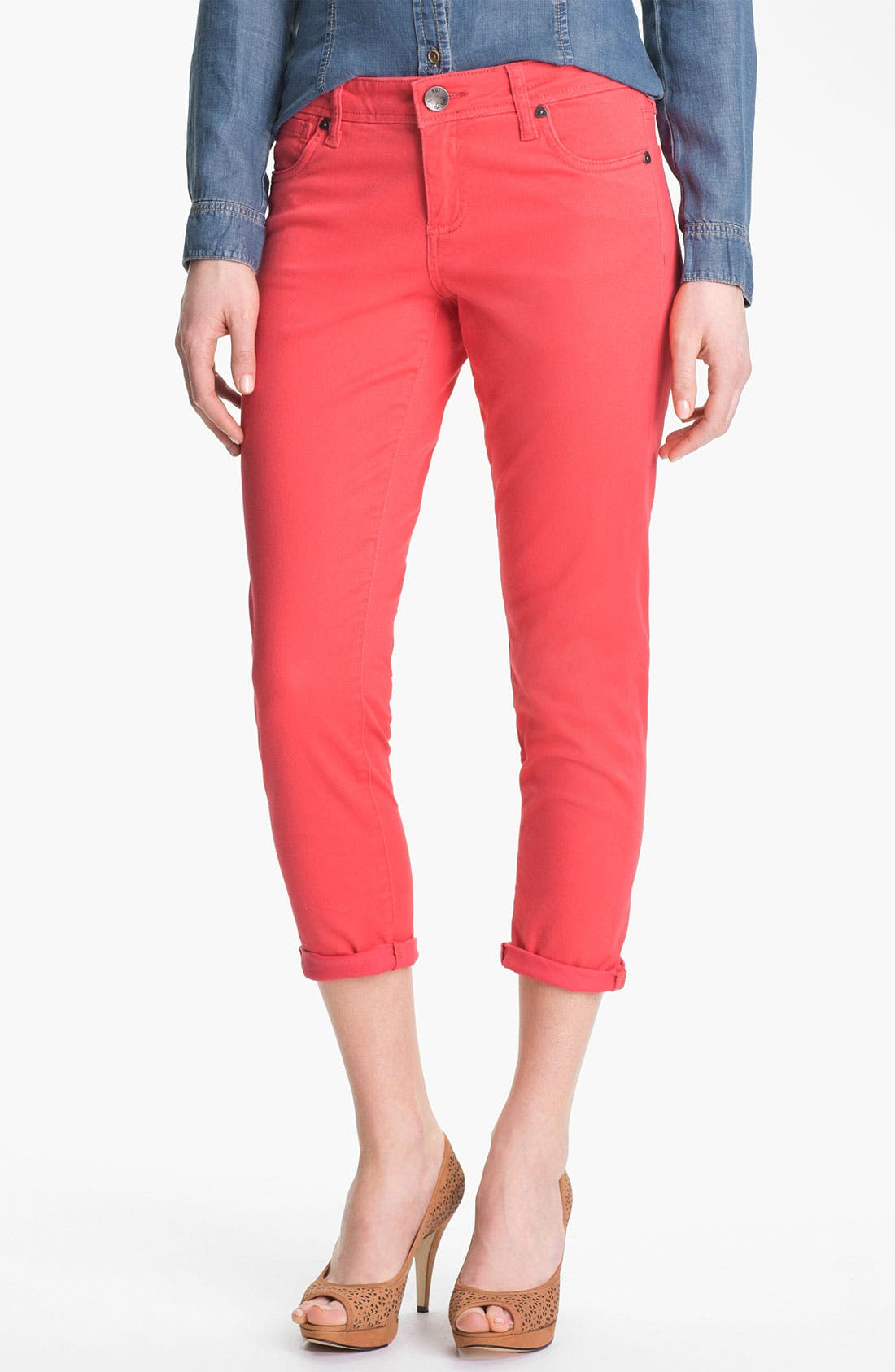 Alternate Image 1 Selected - KUT from the Kloth 'Catherine' Slim Boyfriend Jeans