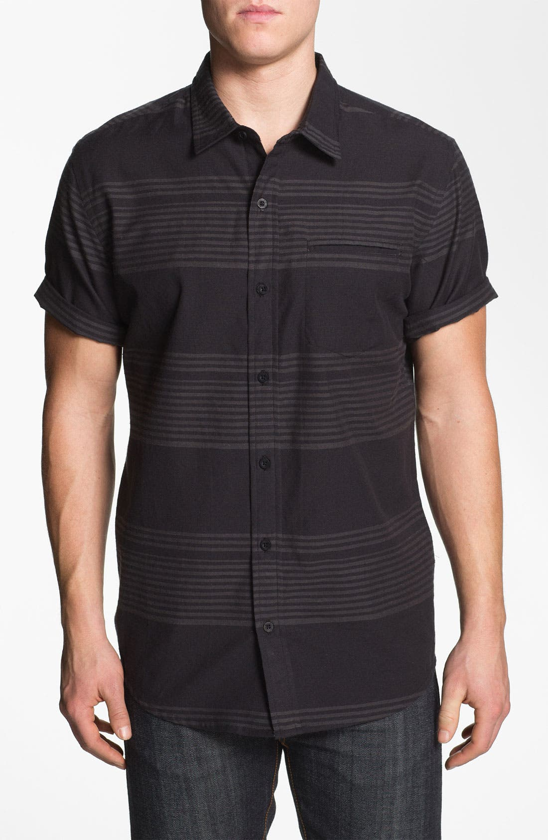 Alternate Image 1 Selected - Ezekiel 'Clampett' Stripe Woven Shirt