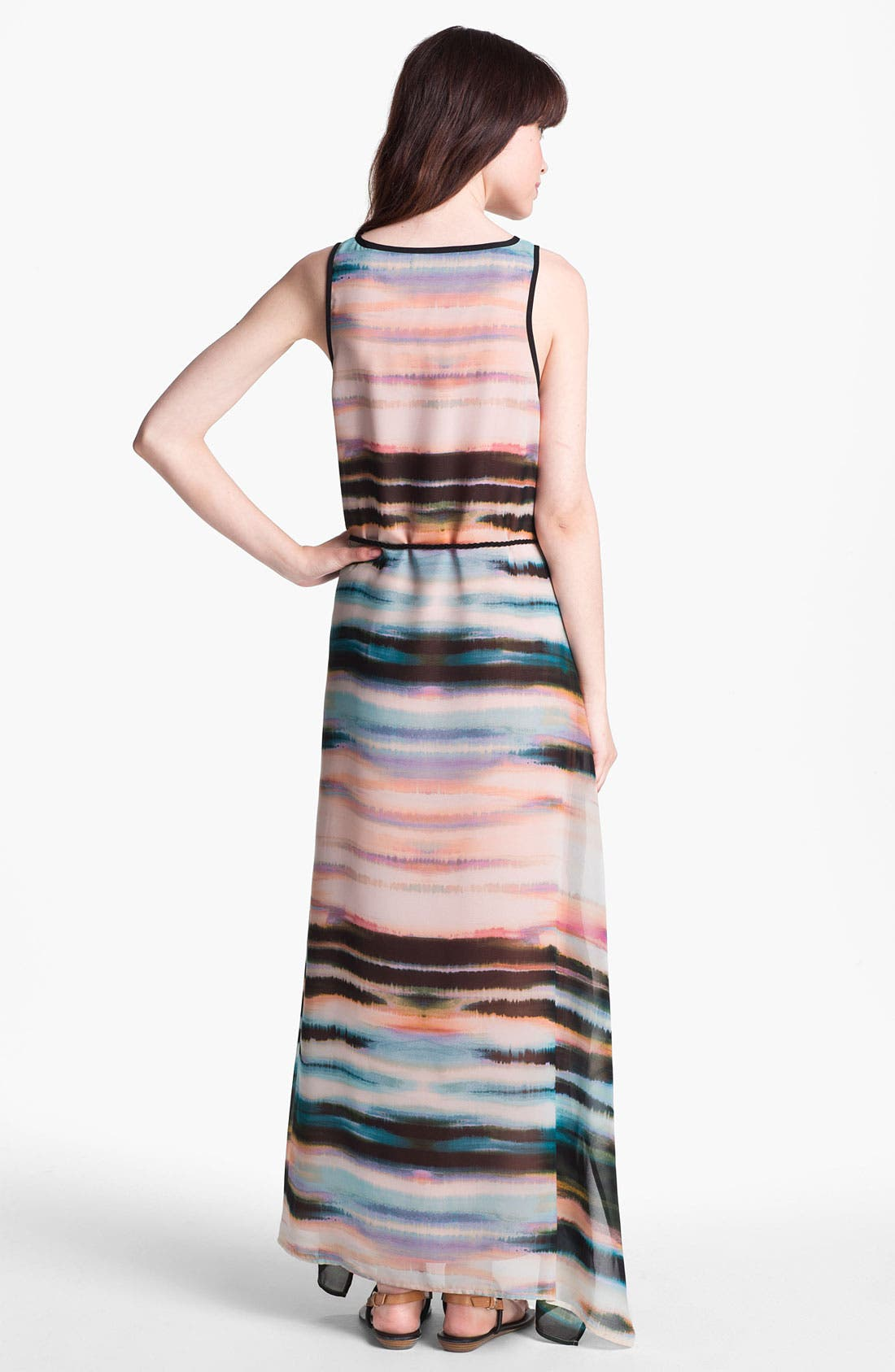 Alternate Image 2  - Sanctuary 'Painted Sky' Chiffon Maxi Dress