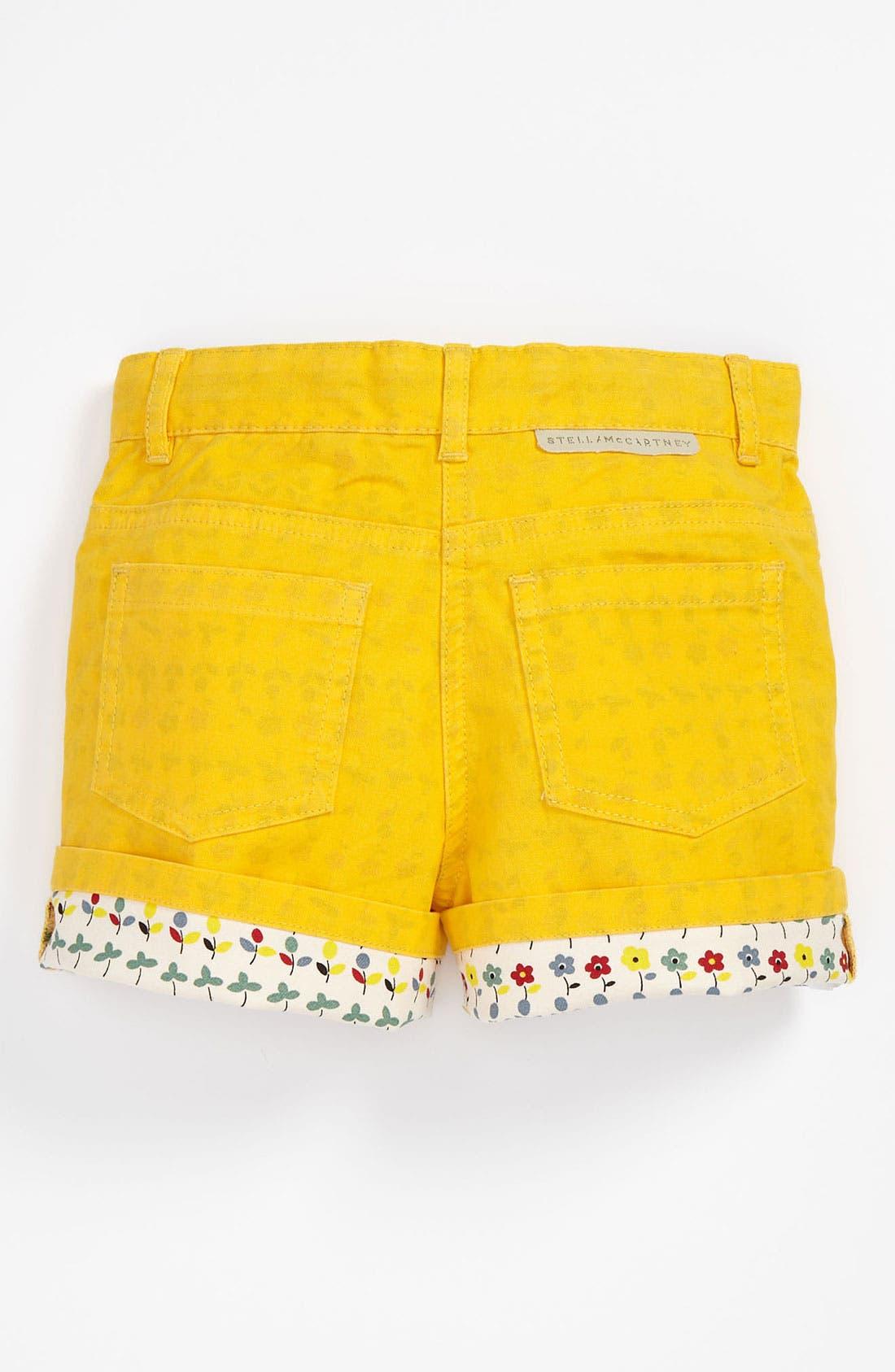 Alternate Image 1 Selected - Stella McCartney Kids 'Devon' Denim Shorts (Toddler, Little Girls & Big Girls)