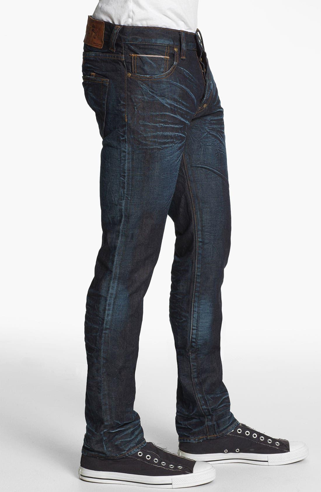 Alternate Image 3  - PRPS 'Rambler' Slim Fit Selvedge Jeans (6 Month)