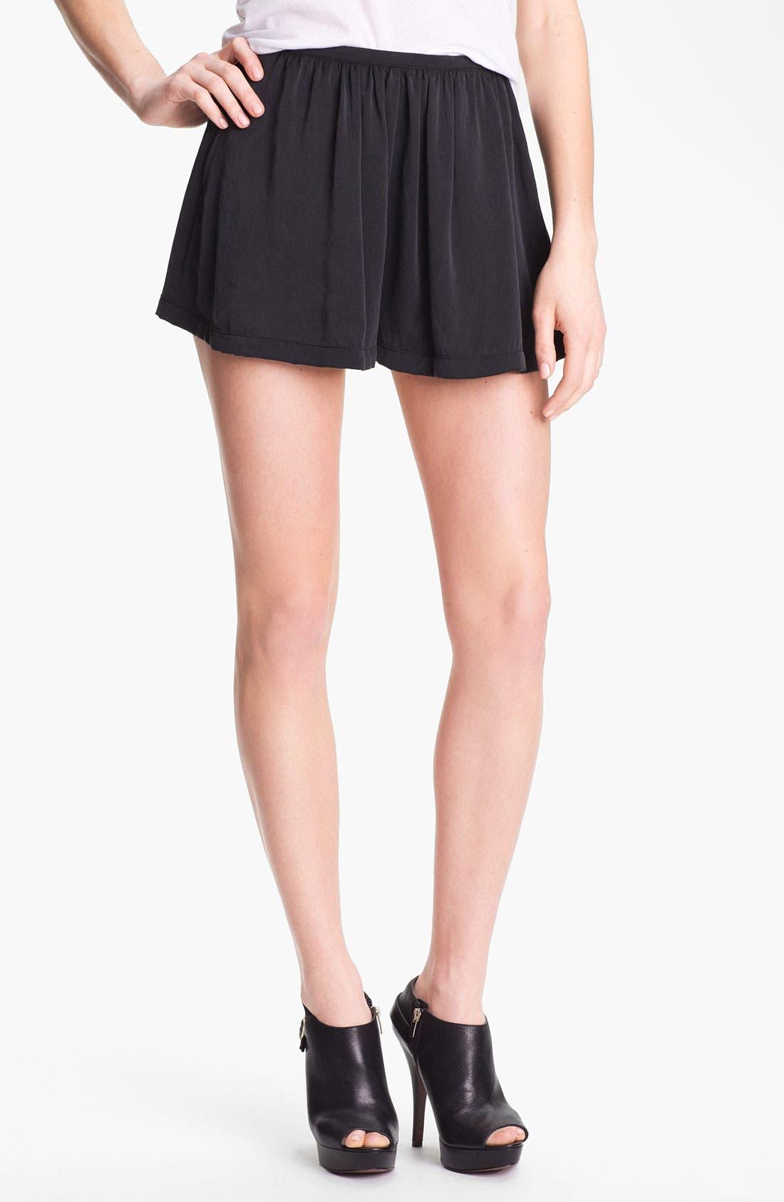 Alternate Image 1 Selected - Man Repeller X PJK Silk Shorts