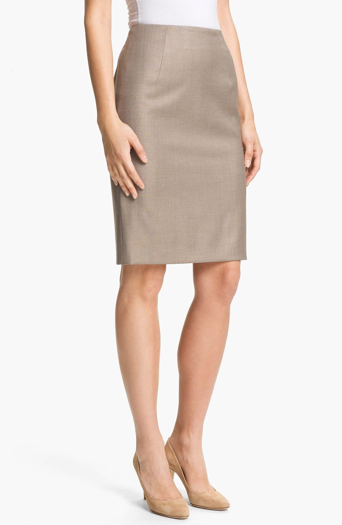 Alternate Image 1 Selected - BOSS HUGO BOSS 'Vilina2' Skirt