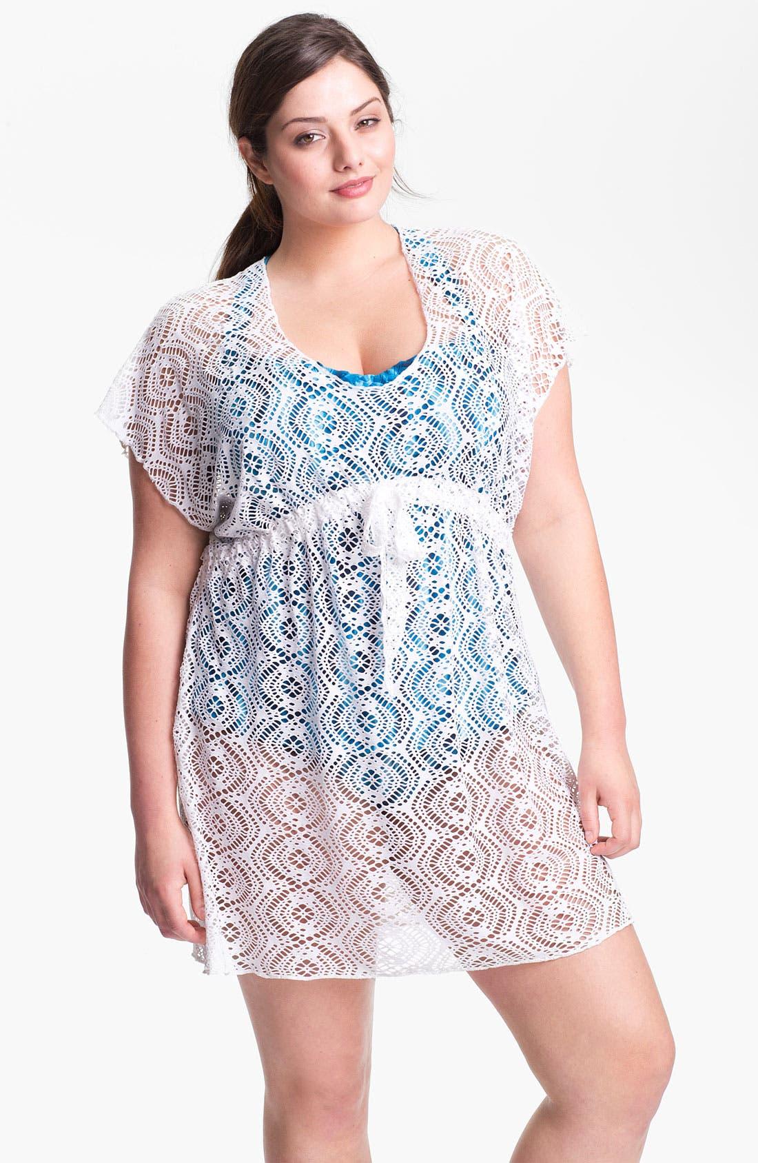 Main Image - Becca Etc. 'Marbella' Tunic (Plus Size)