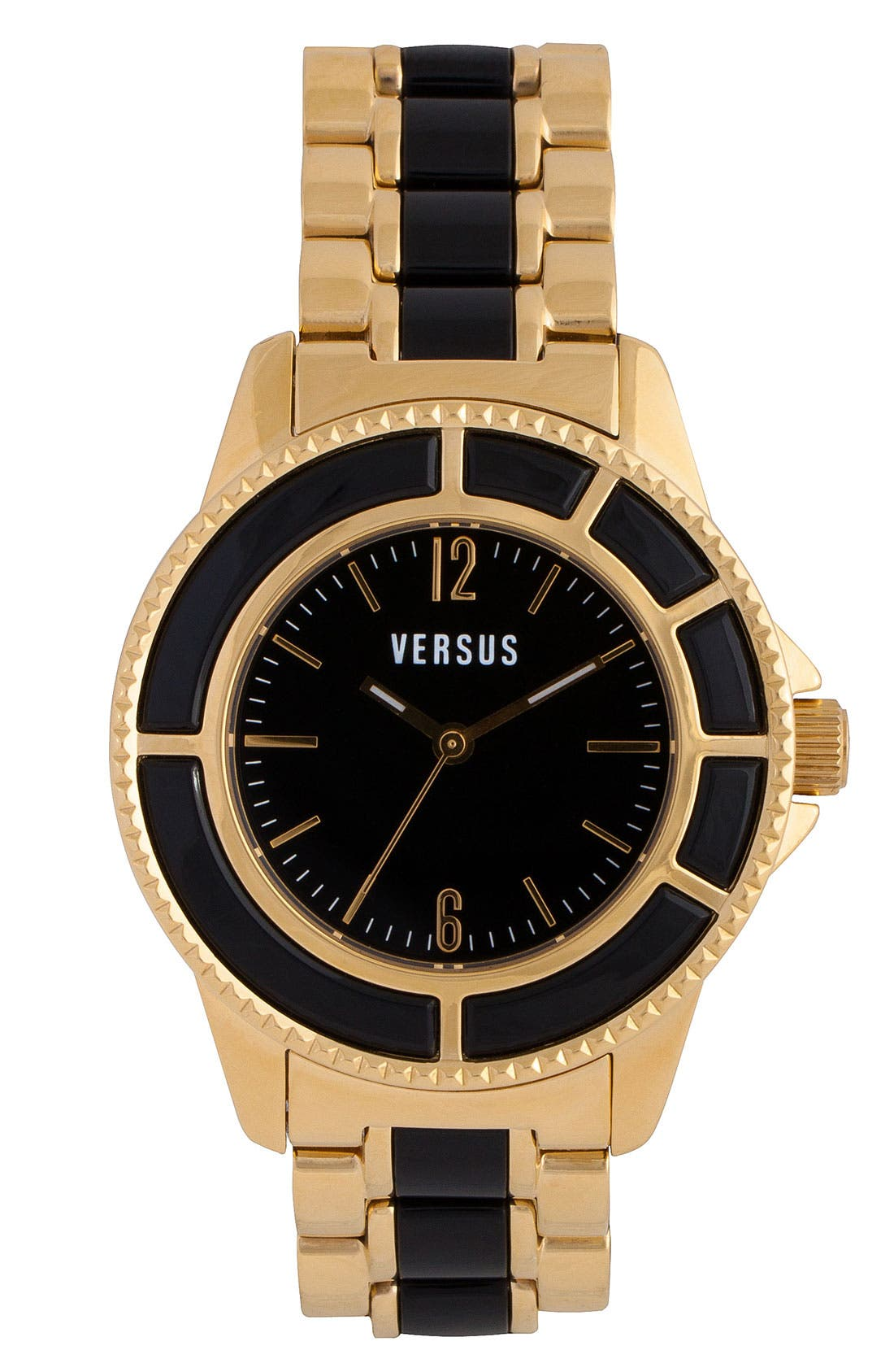 Alternate Image 1 Selected - VERSUS by Versace 'Tokyo' Two Tone Bracelet Watch, 38mm
