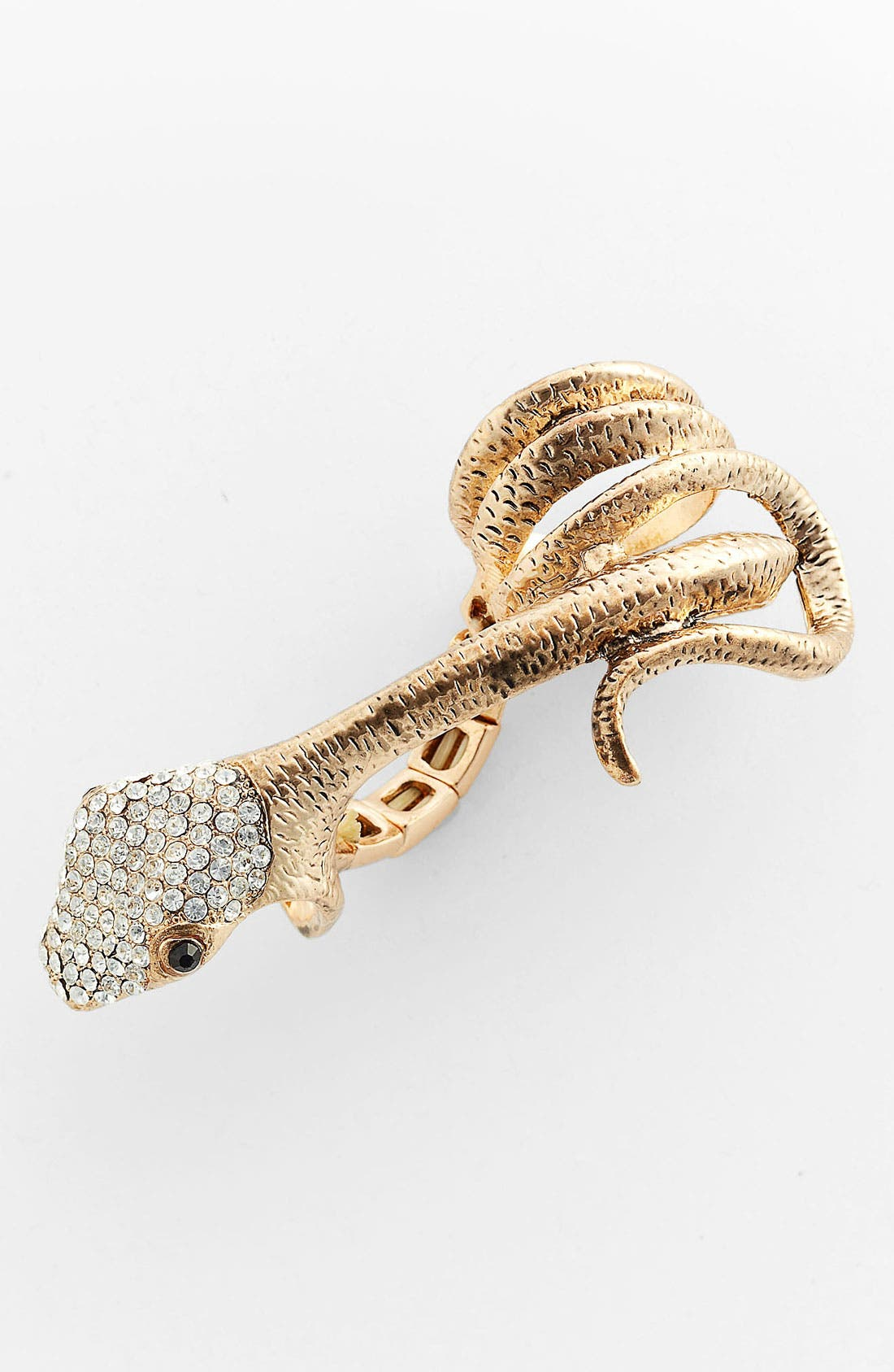 Main Image - Guinevere 'Traveler' Double Finger Snake Ring