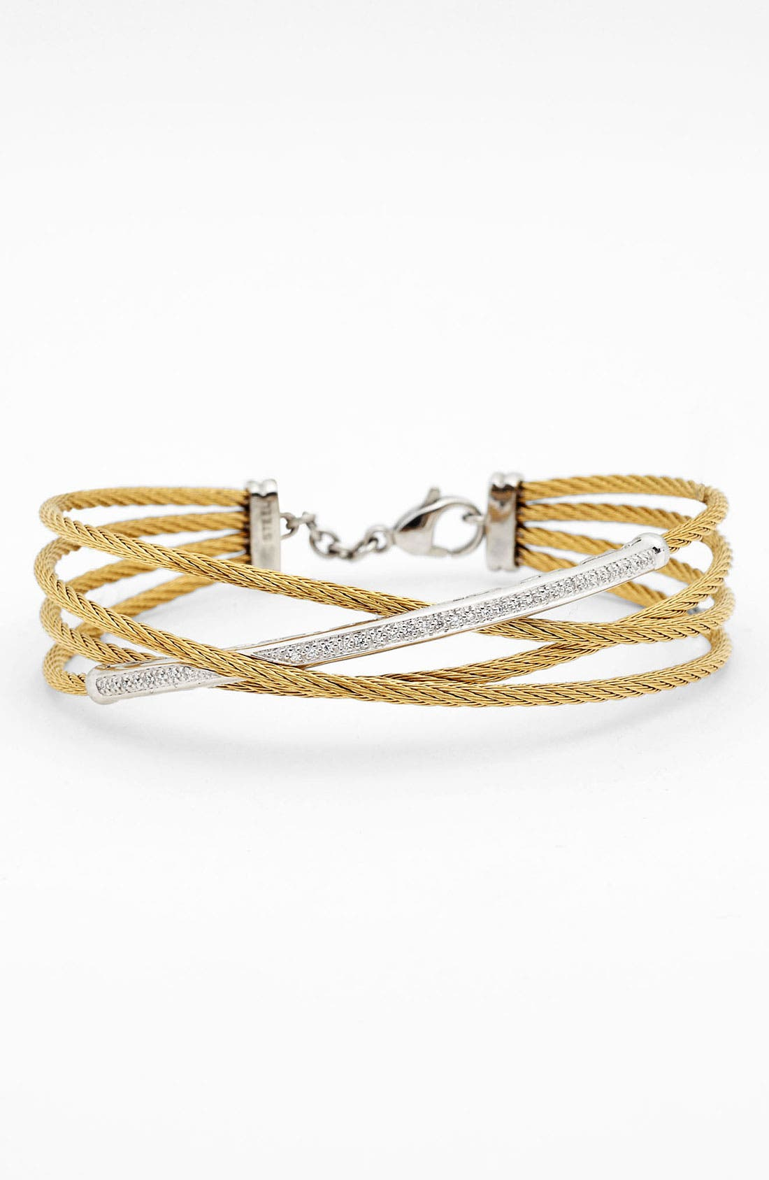 Alternate Image 1 Selected - ALOR® Crossover Cable Bangle