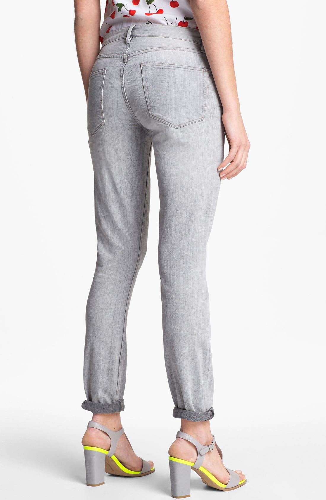 Alternate Image 2  - Two by Vince Camuto 'Shorty' Jeans (Sandy Grey)