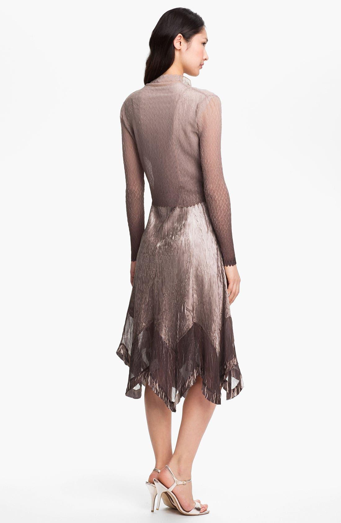 Alternate Image 3  - Komarov Embellished Charmeuse Dress & Jacket