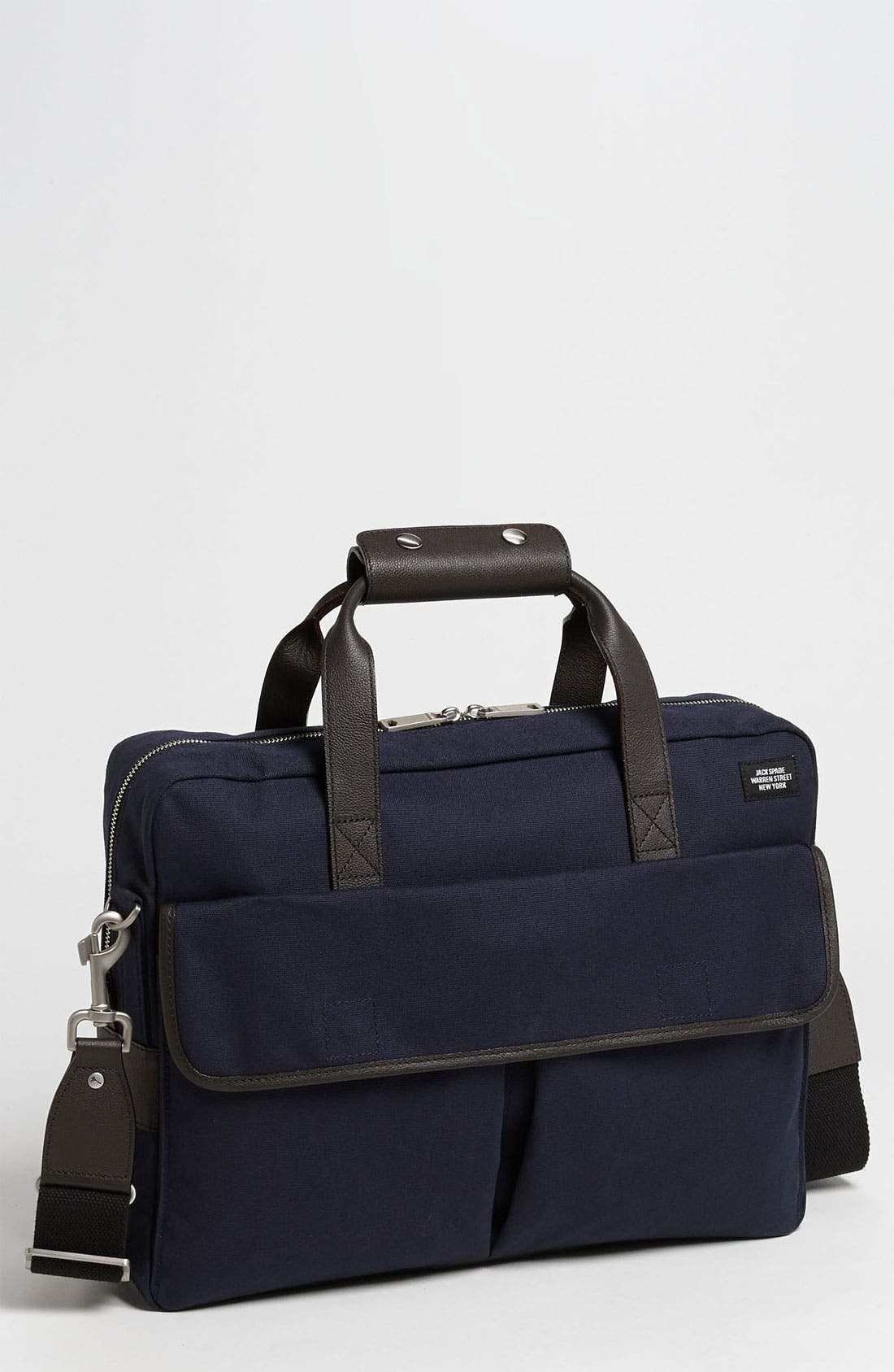 Alternate Image 1 Selected - Jack Spade 'Field' Canvas Briefcase