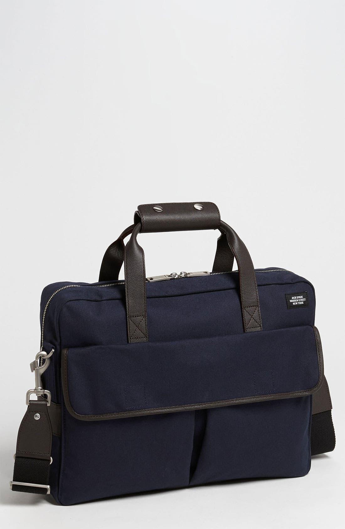 Main Image - Jack Spade 'Field' Canvas Briefcase