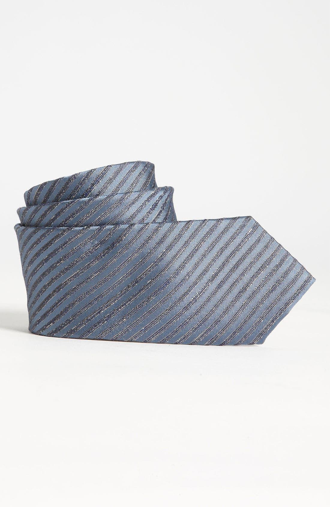 Alternate Image 1 Selected - John Varvatos Star USA Woven Silk Tie (Big Boys)
