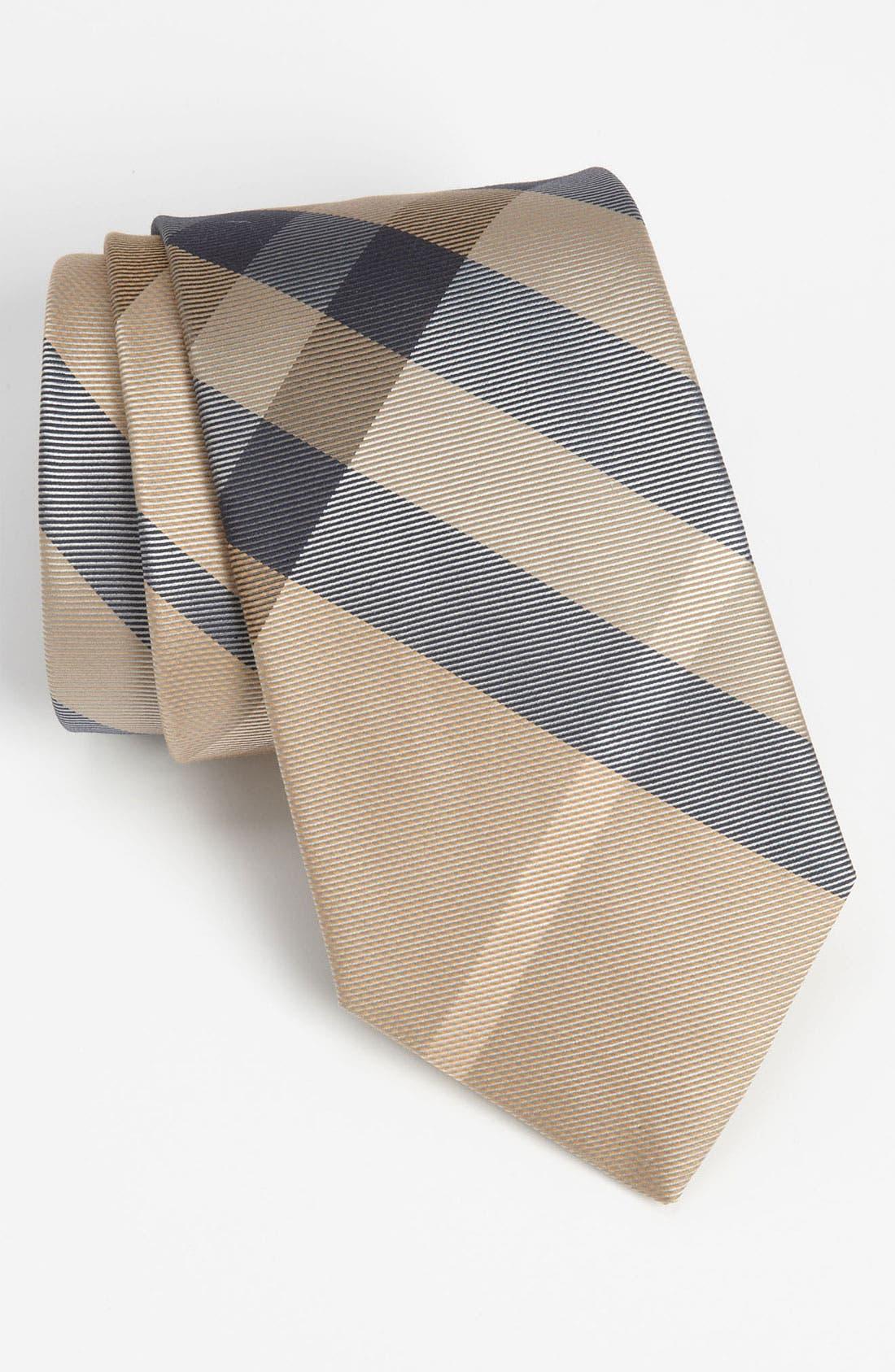 Alternate Image 1 Selected - Burberry London Silk Blend Tie