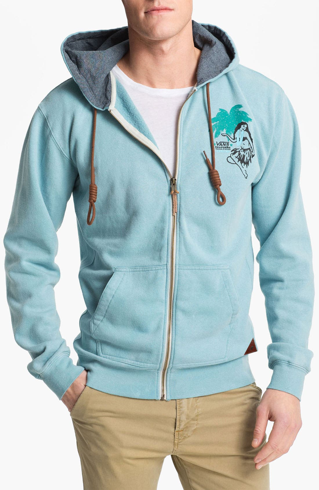 Alternate Image 1 Selected - Vans 'Novato' Zip Hoodie