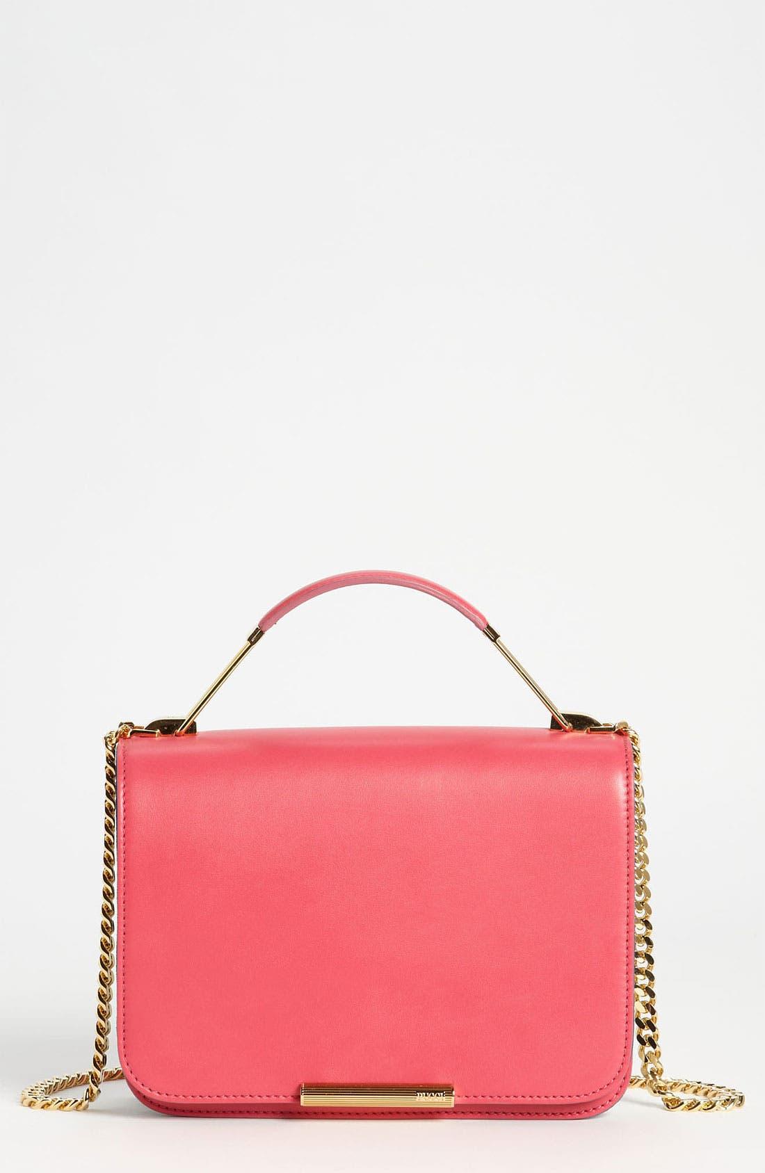 Alternate Image 1 Selected - Emilio Pucci Partitioned Leather Shoulder Bag