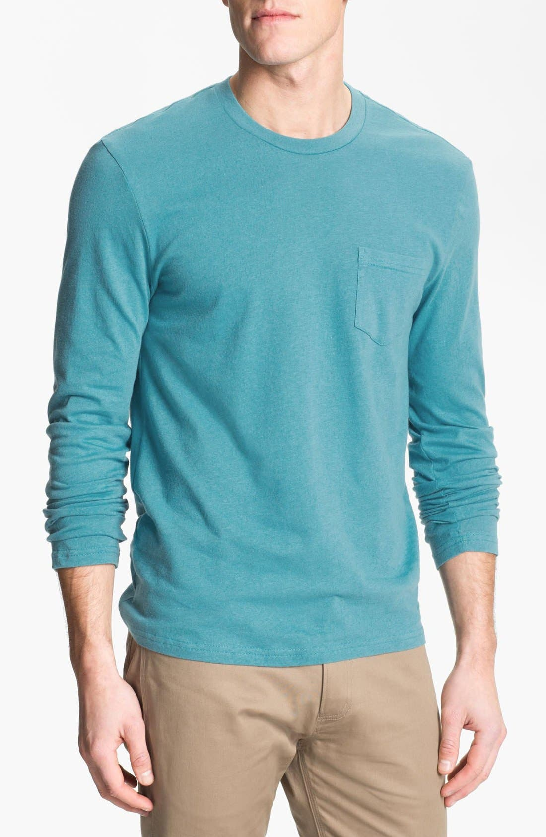 Main Image - The Rail Long Sleeve Pocket T-Shirt
