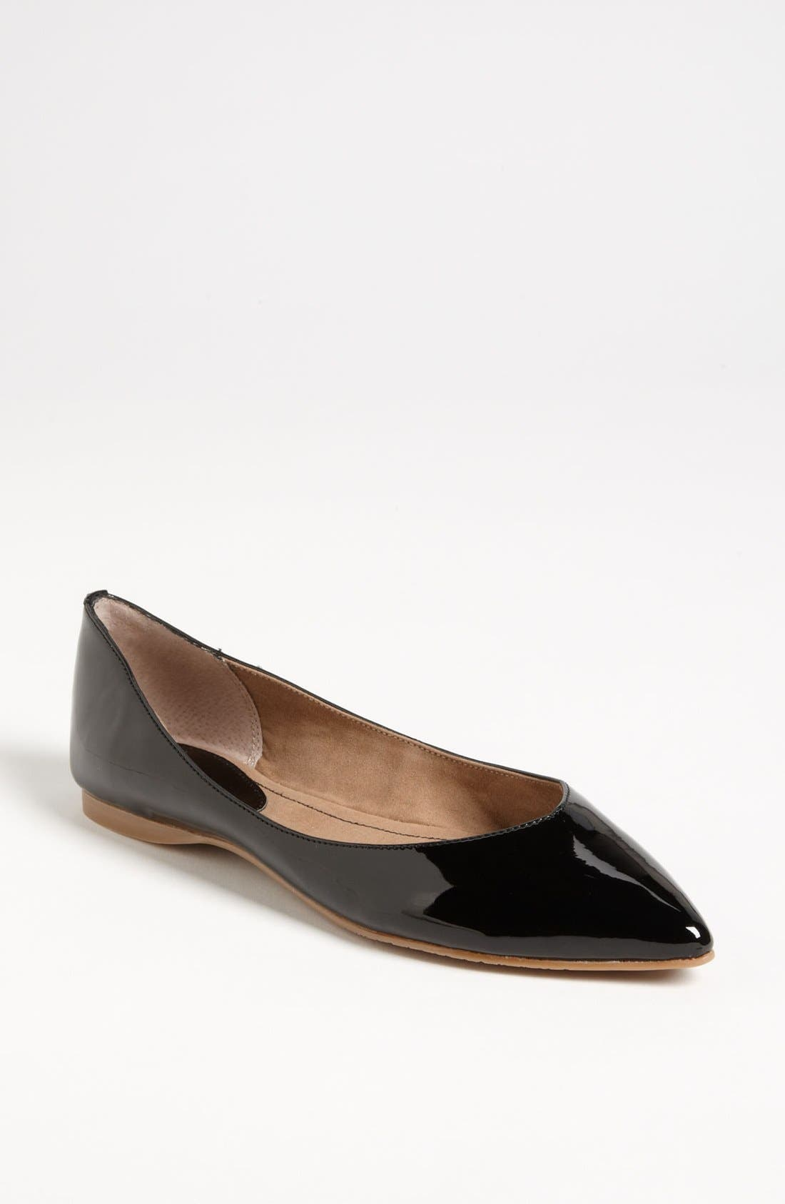 BP. 'Moveover' Pointy Toe Flat (Women)