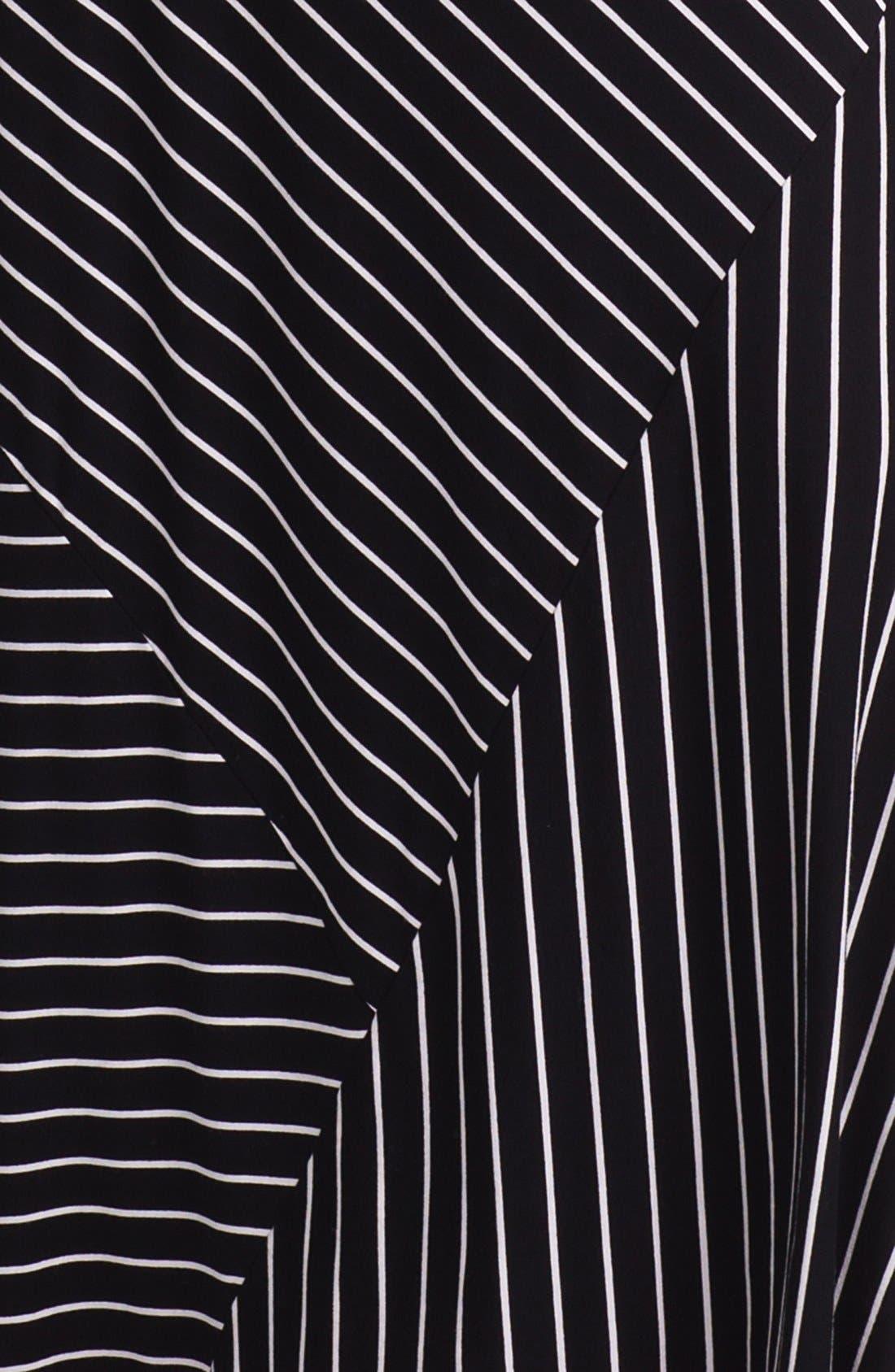 Alternate Image 3  - Vince Camuto Banded Stripe Maxi Dress