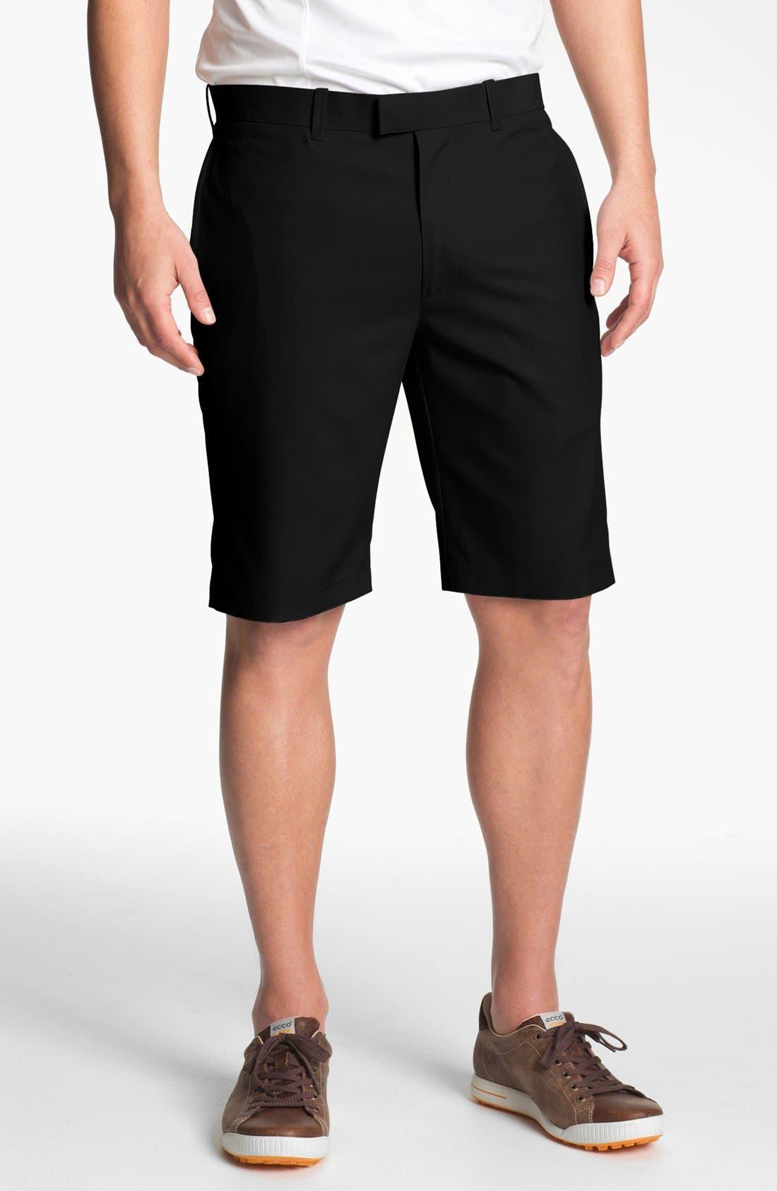 Main Image - Callaway Golf® Flat Front Shorts